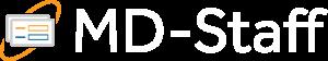 MD-Staff Logo White